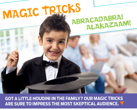 easy magic tricks for kids