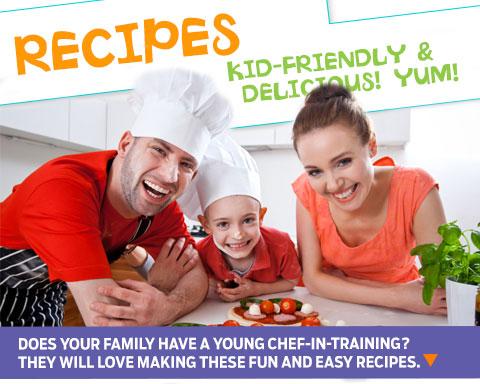 fun kid-friendly recipes