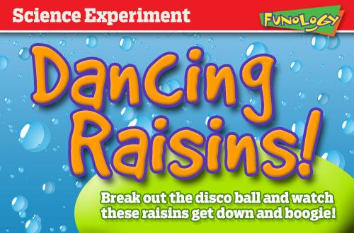 science fair experiment dancing raisins
