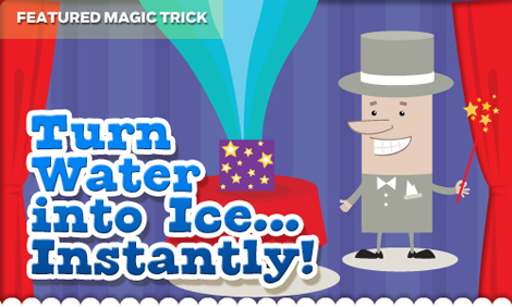 turn water into ice